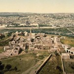 Jerusalem-East-view-ancient-picture
